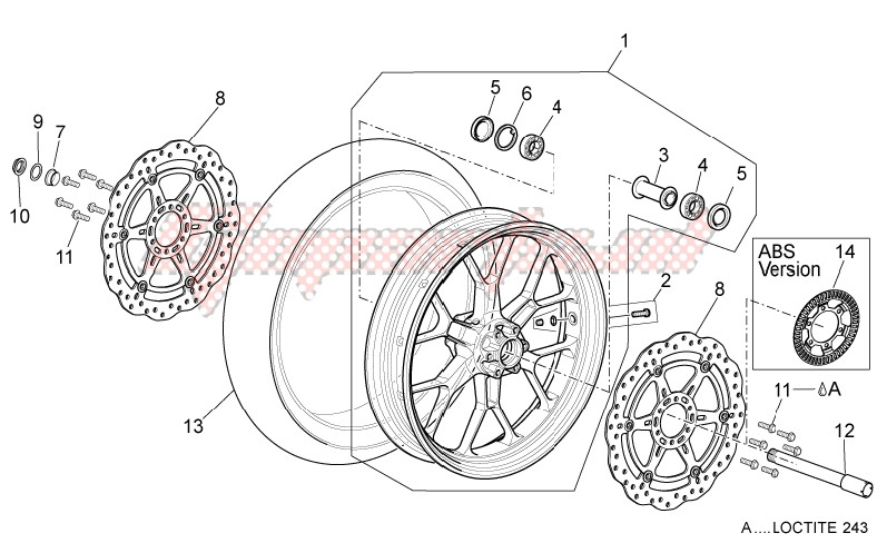 Front wheel image