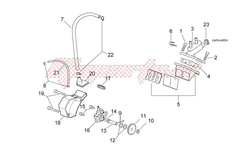 Oil pump - Manifold image