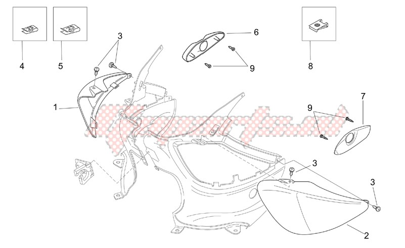 Frame-Rear body - Undersaddle
