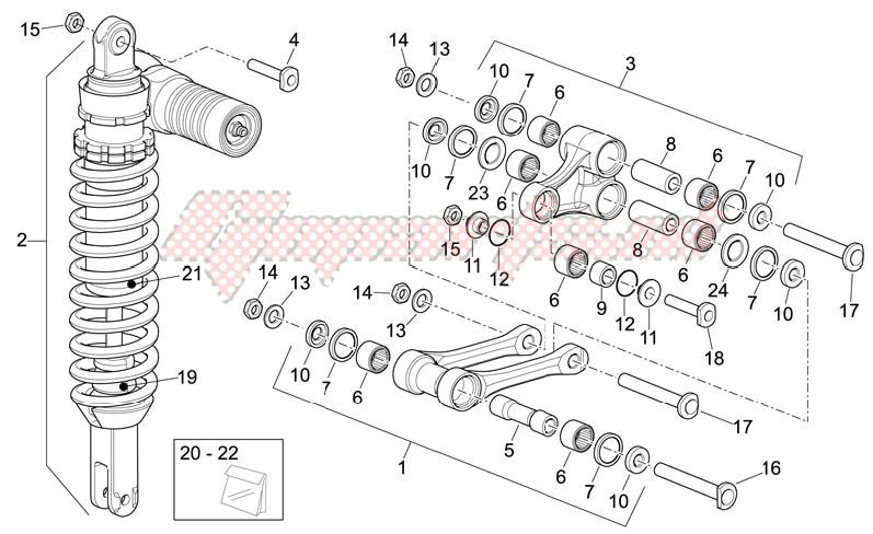 Rear Shock absorber image