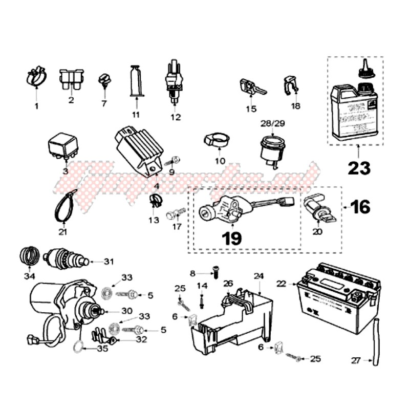 ELECTRIC PART blueprint