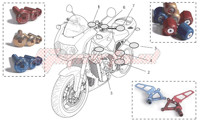 Accessories-Acc. - Cyclistic components II