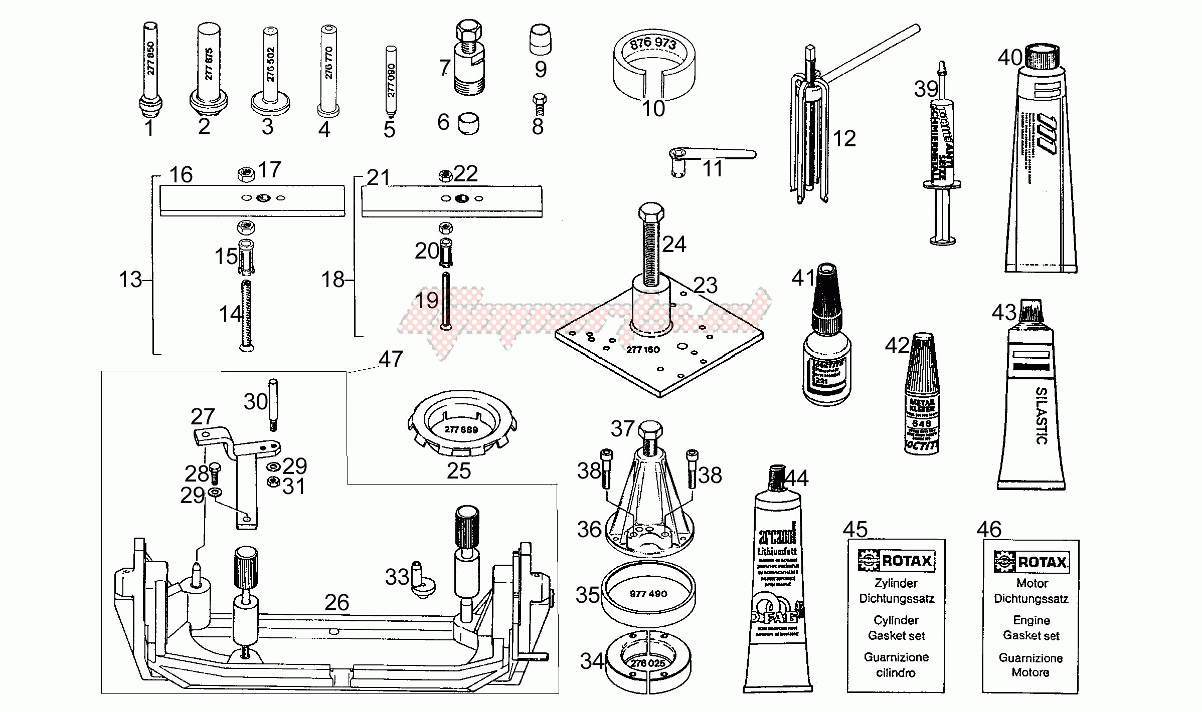 Engine-Special tools