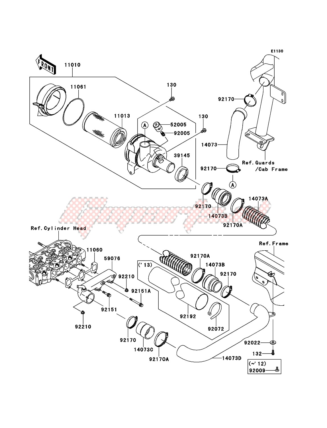 Engine-Air Cleaner
