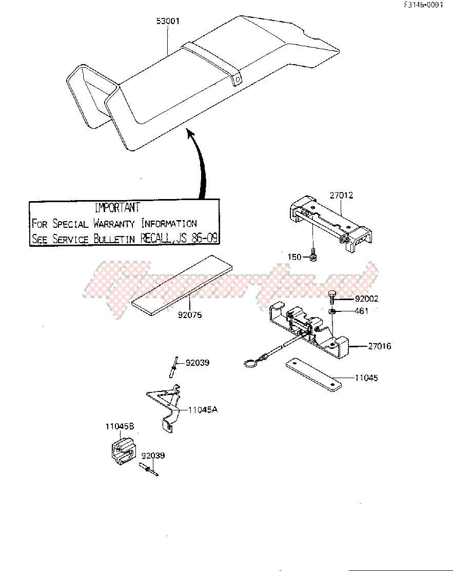 SEAT -- JF650-A1- - image