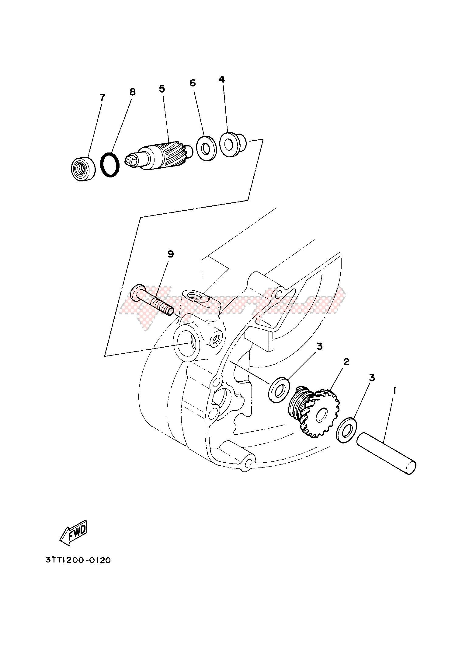 TACHOMETER GEAR blueprint