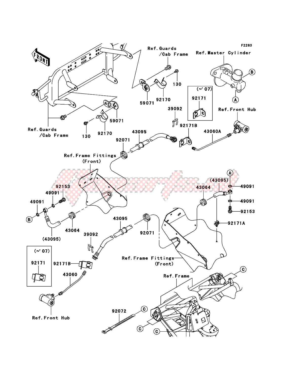 Front Brake Piping image