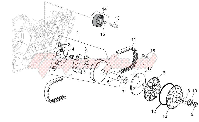 Variator assembly image