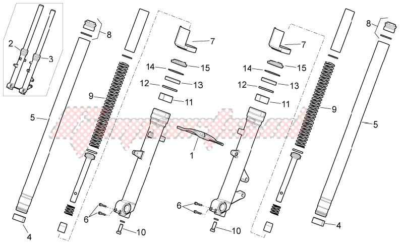 Front fork - Strada Version image