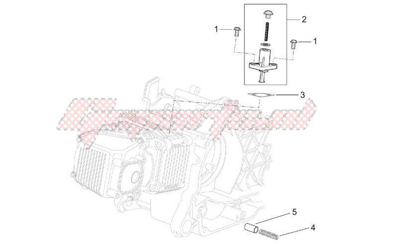 Engine-Chain tensioner