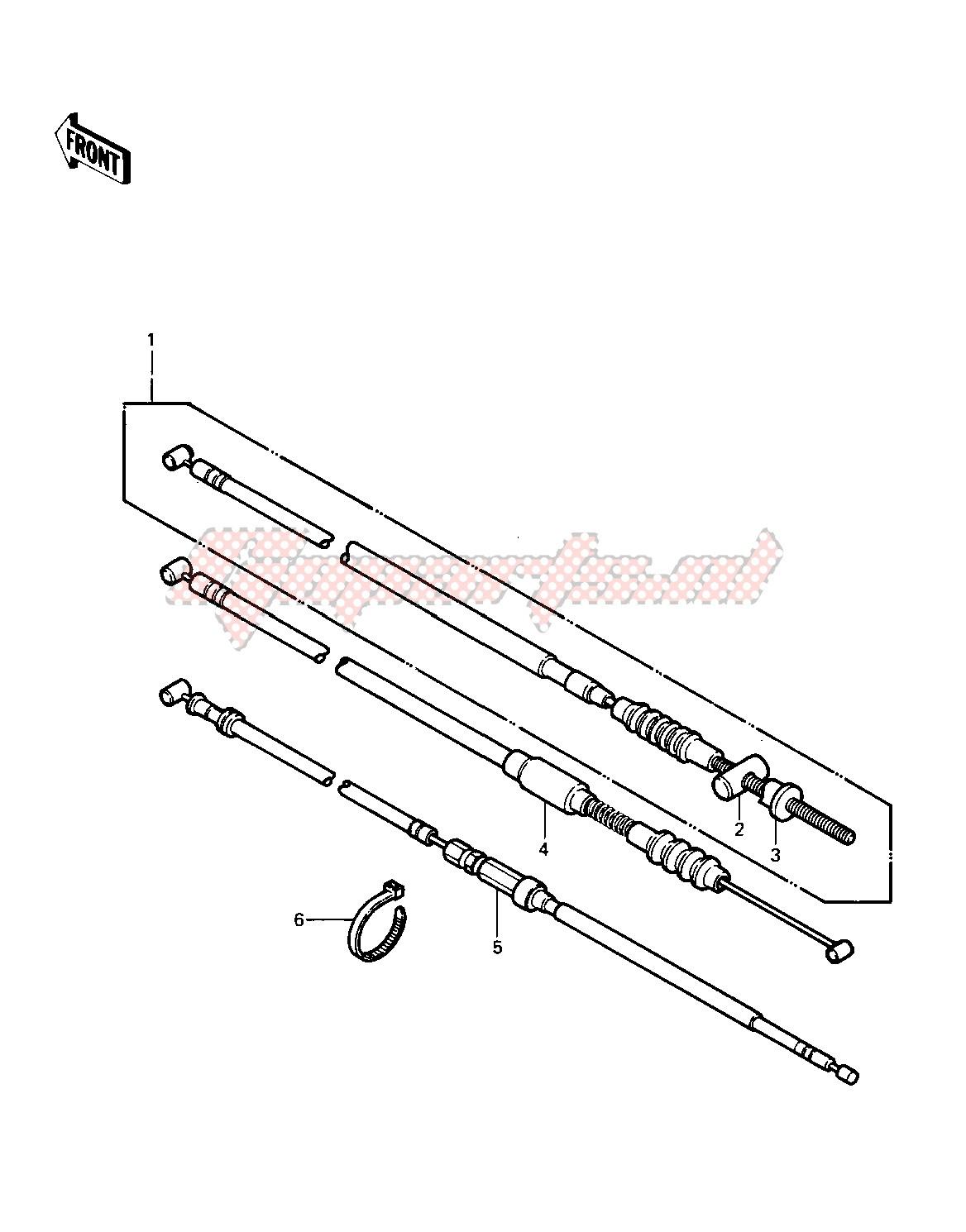 CABLES -- 83 KLT200-C1- - image