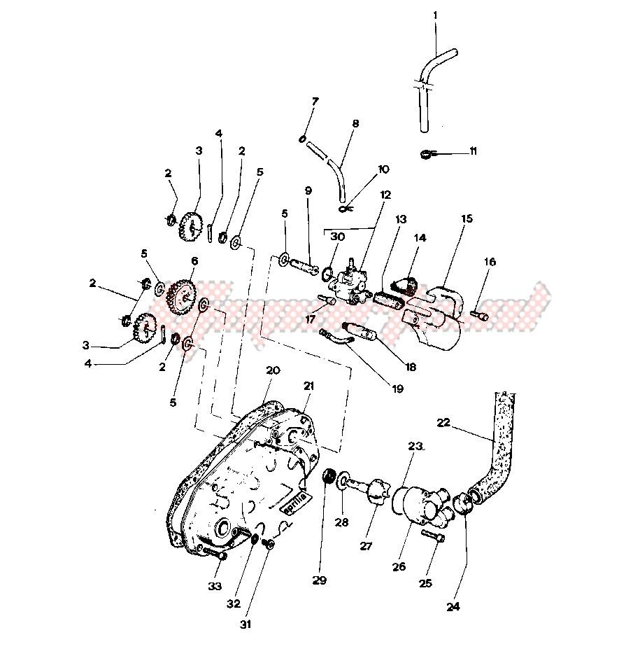 Clutch cover - Oil pump image