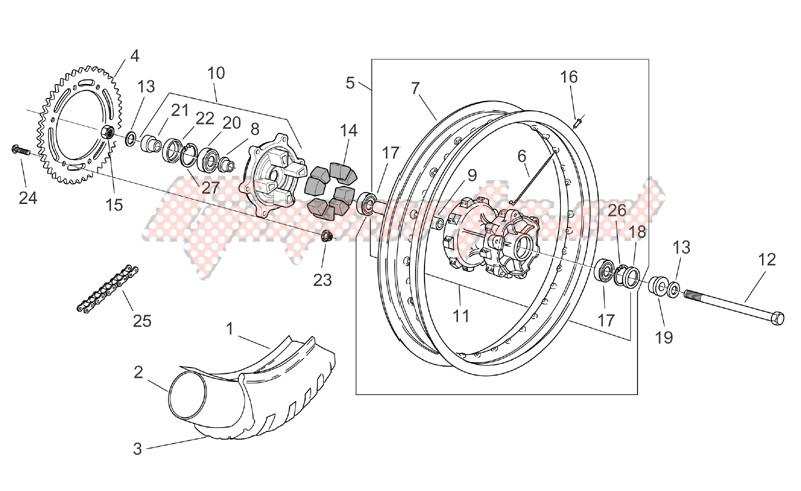 Rear Wheel image
