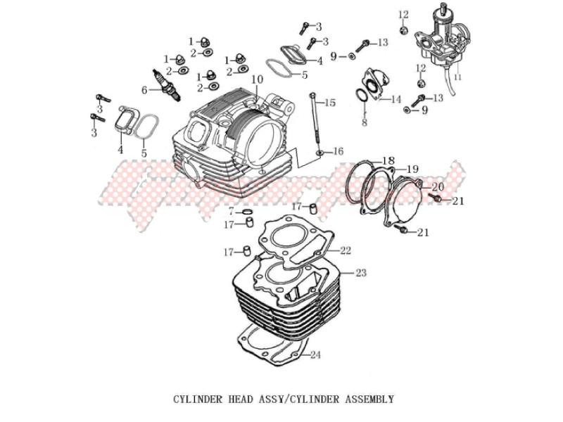 Cylinder head cover - Cylinder image