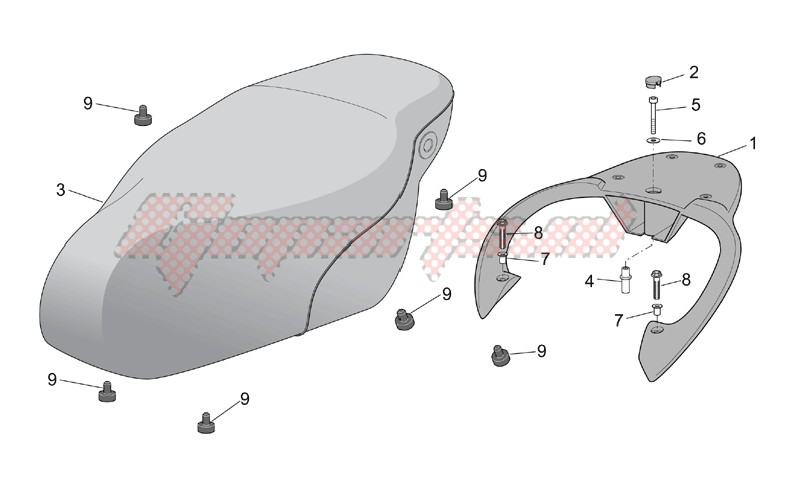 Seat - Carrier image