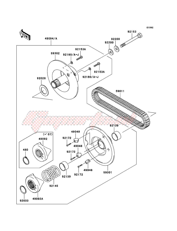 Driven Converter/Drive Belt image
