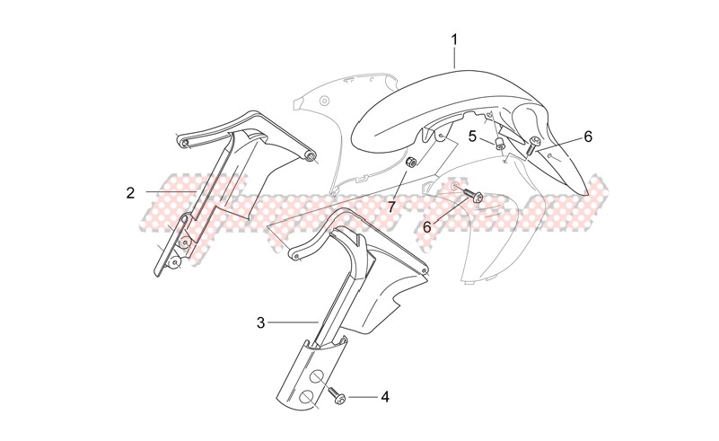 Front body - Mudguard image