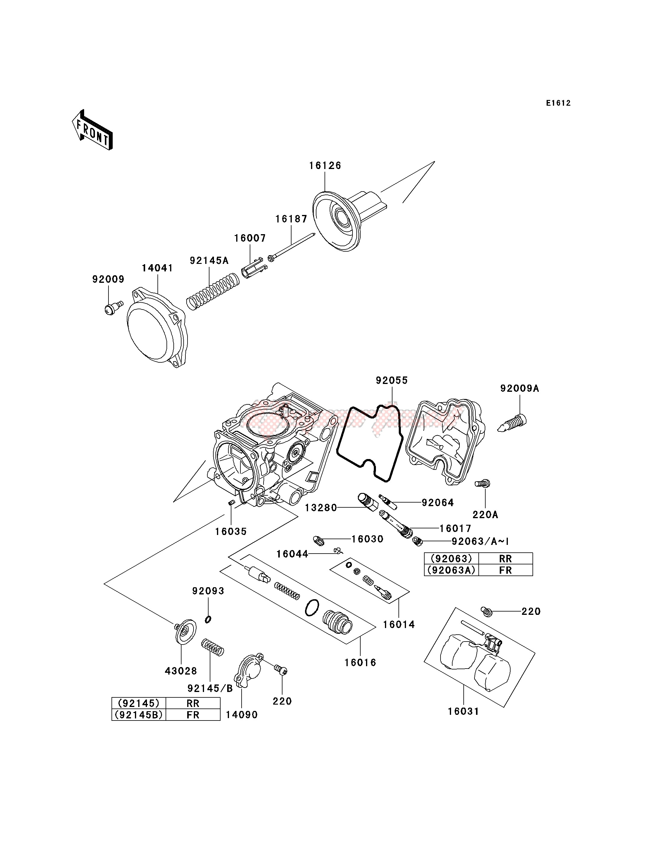 CARBURETOR PARTS image