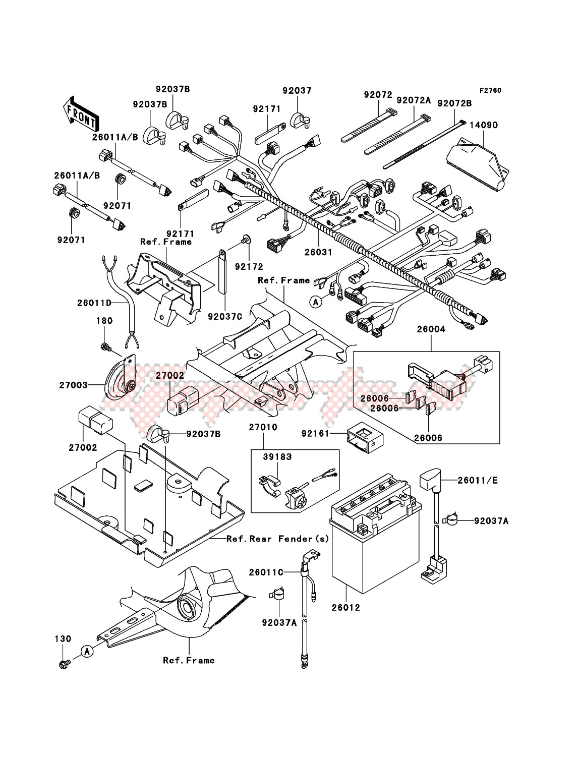 Frame-Chassis Electrical Equipment