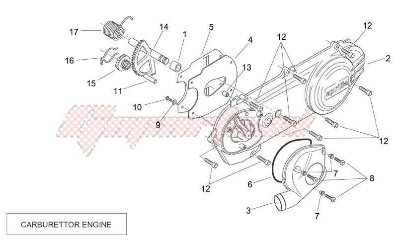 Transmission cover (Carburettor) image