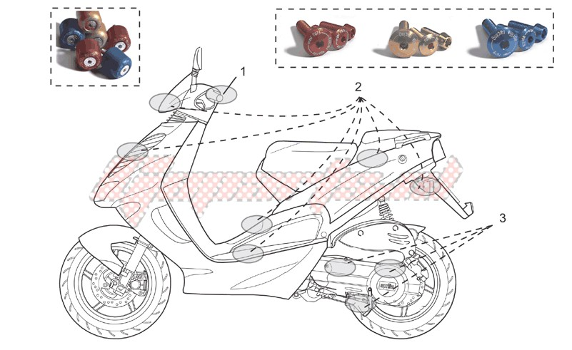 Accesoiries-Acc. - Cyclistic components