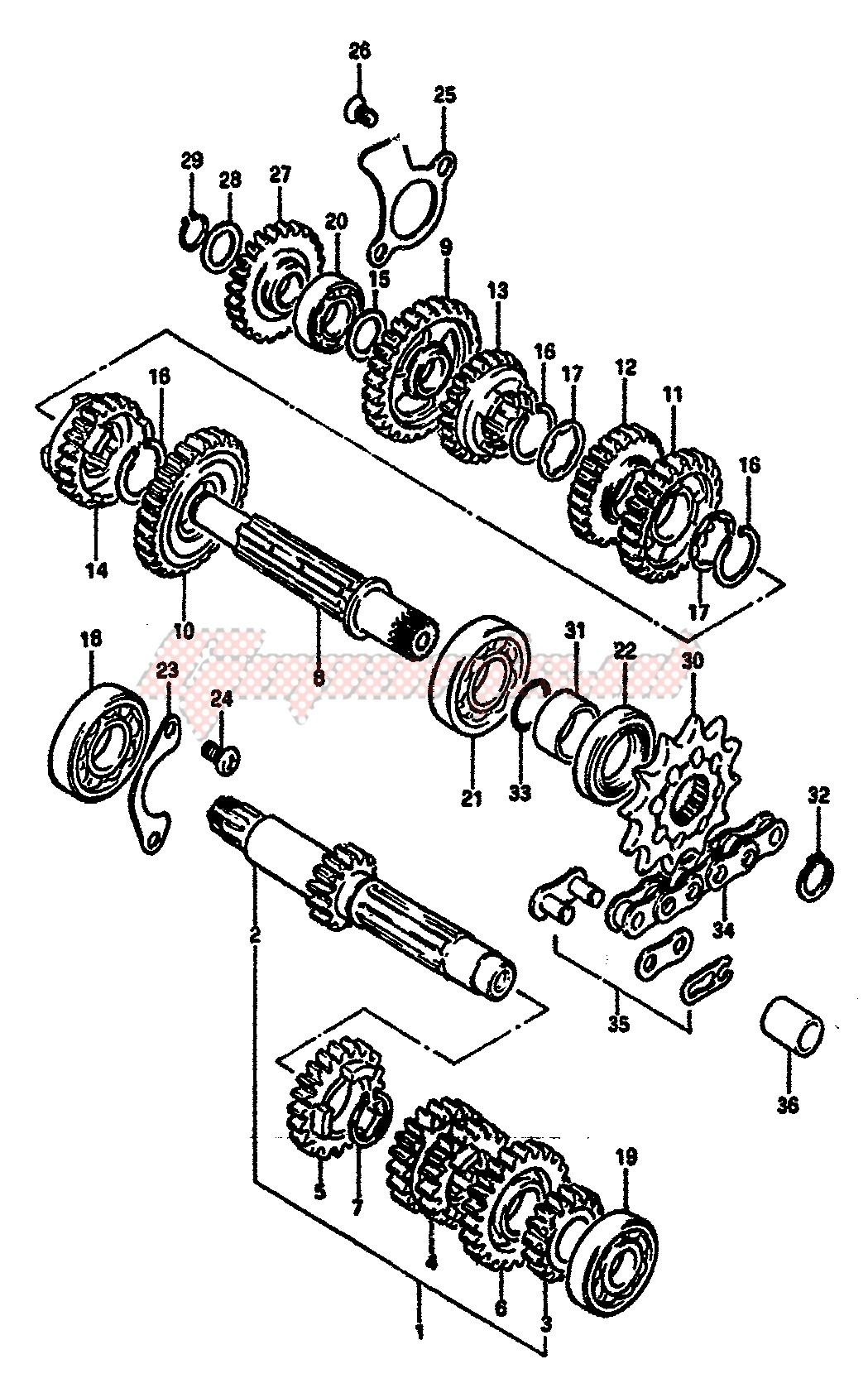 TRANSMISSION (MODEL E) image