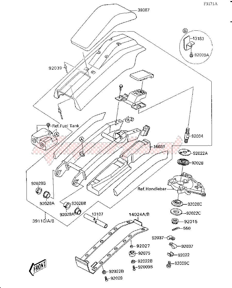 HANDLE POLE-- JS300-A2_A3_A4- - image
