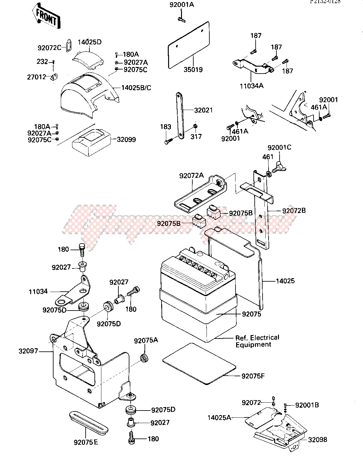 BATTERY CASE_TOOL CASE -- 84 KLT200-C2- - image