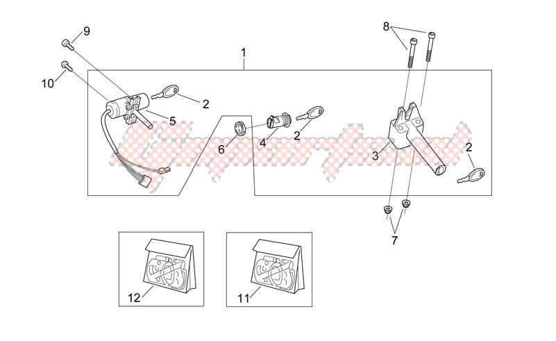 Decal and Lock hardware kit image