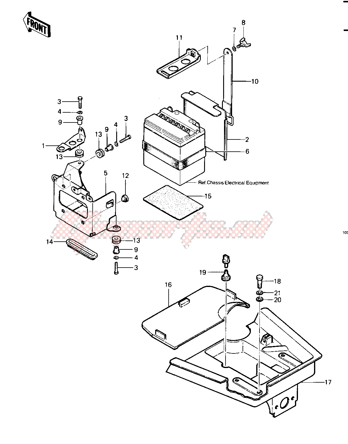 BATTERY CASE_TOOL CASE -- 83 KLT200-C1- - image