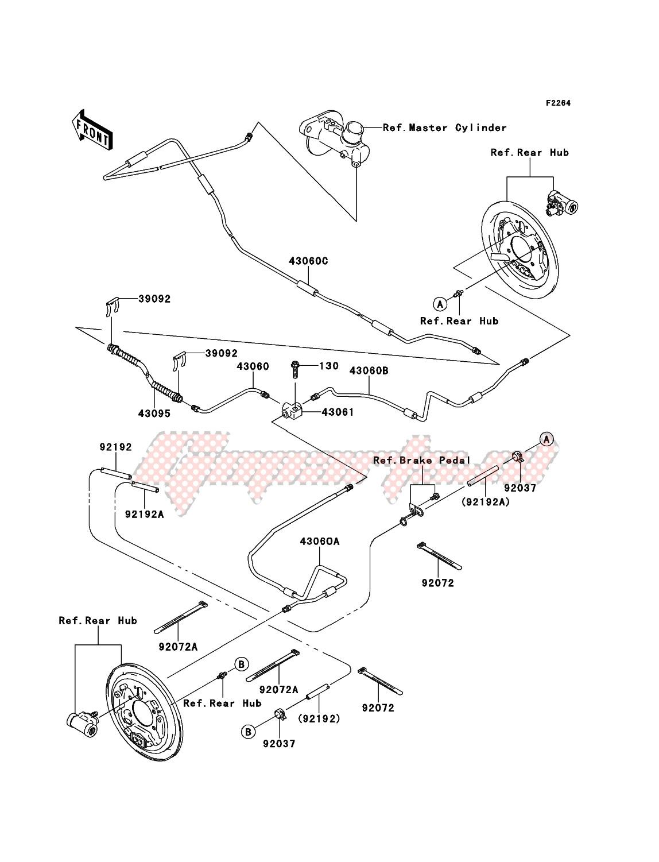 Rear Brake Piping image