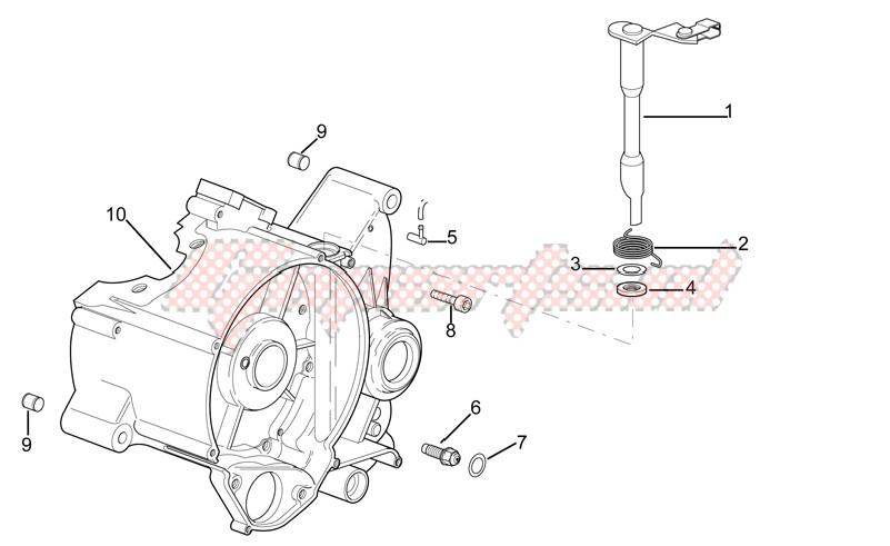 Right crankcase image
