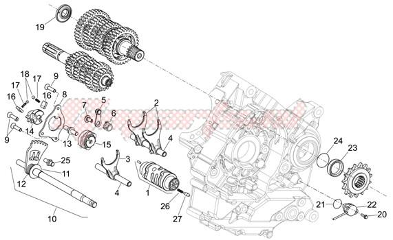 Gear box selector image