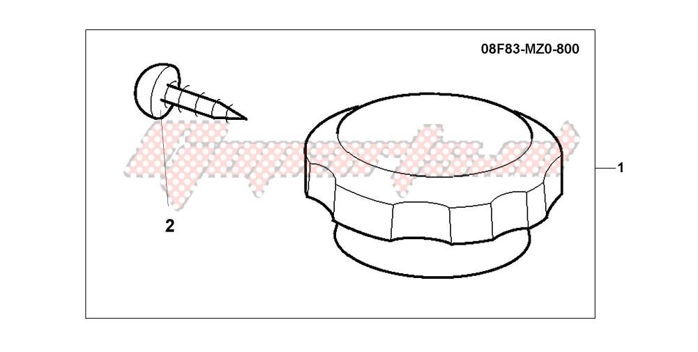 CHRM RADIATOR CAP blueprint