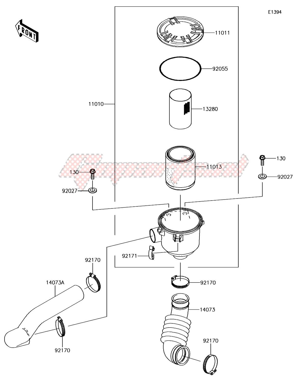 Air Cleaner-Belt Converter image