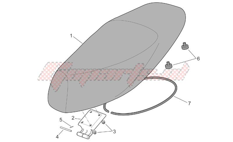 Saddle unit image