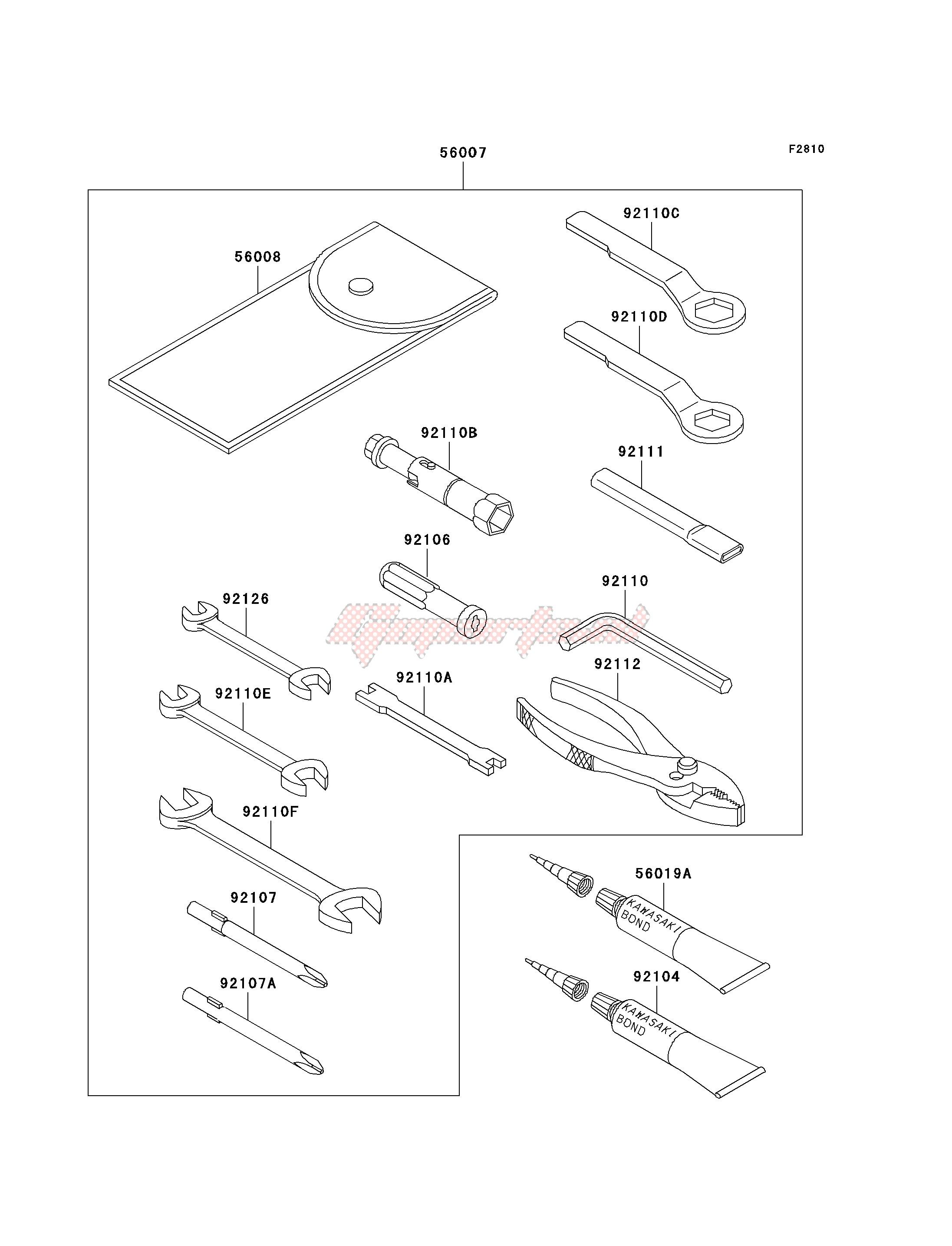 OEM Kawasaki KH100 KH125 Vulcan VN700 VN750 KE KE125 KE100 Plug Screw Side Cover