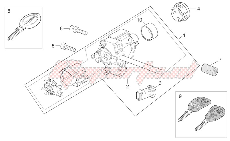 Frame-Lock hardware kit