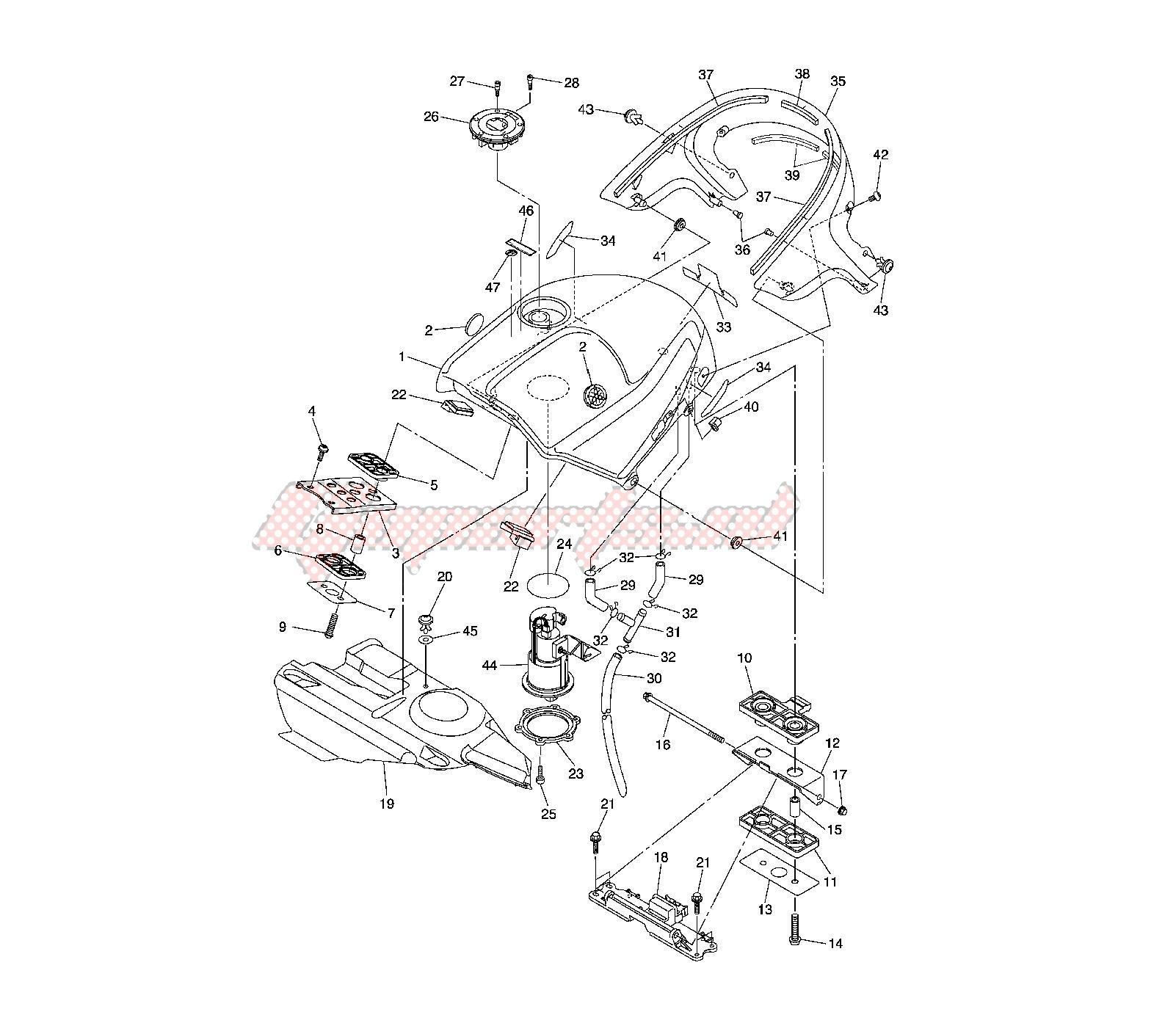 FUEL TANK blueprint