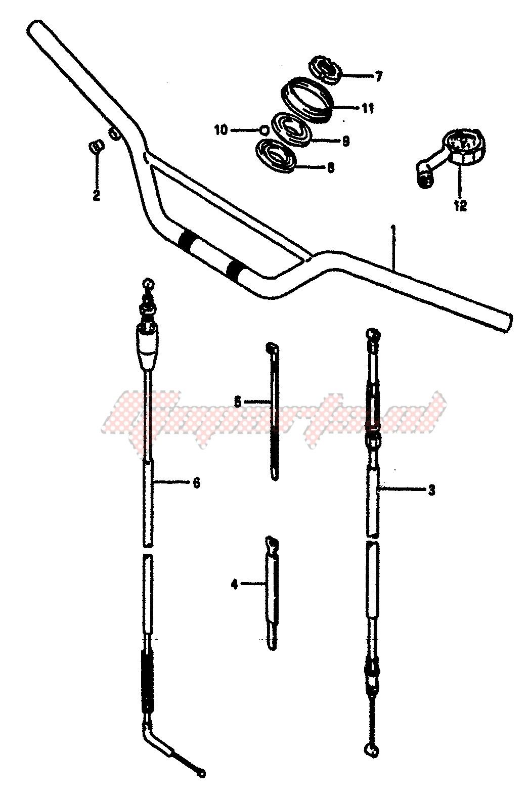 HANDLEBAR (MODEL F) blueprint