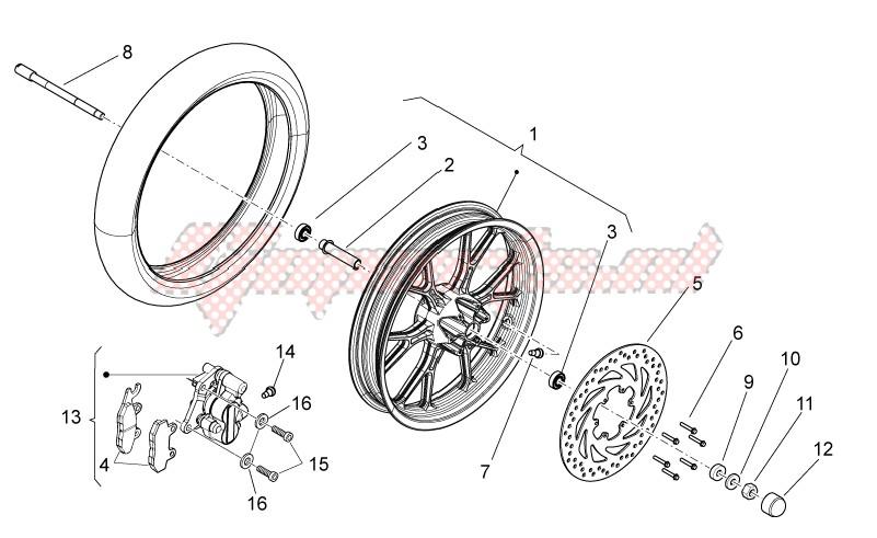 Front wheel II image