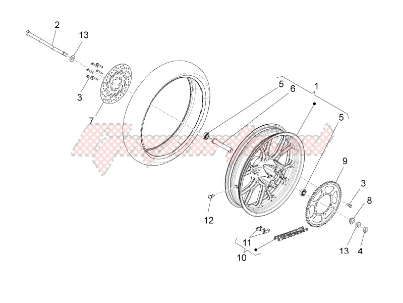 Rear wheel II image