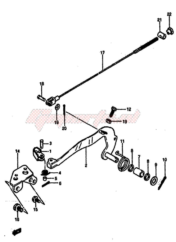 REAR BRAKE blueprint