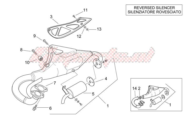 Exhaust unit -RAC- image