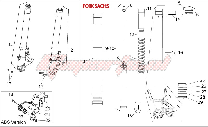 Front fork III image