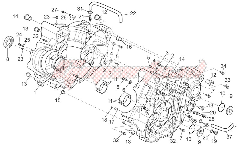 Engine-Crankcase I
