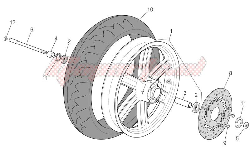 Front wheel image