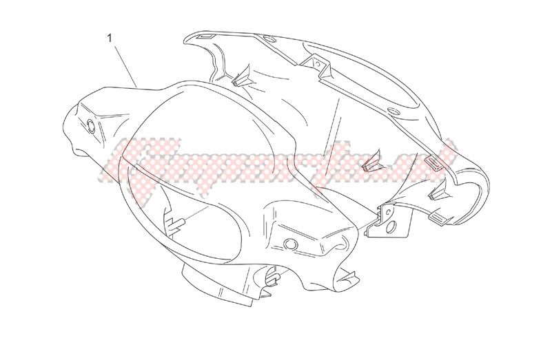 Front body I - Headlight support image