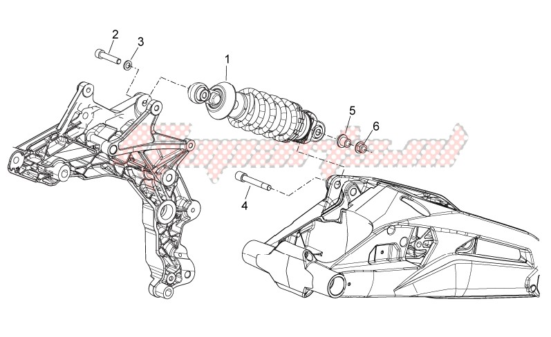 Rear Shock absorber image