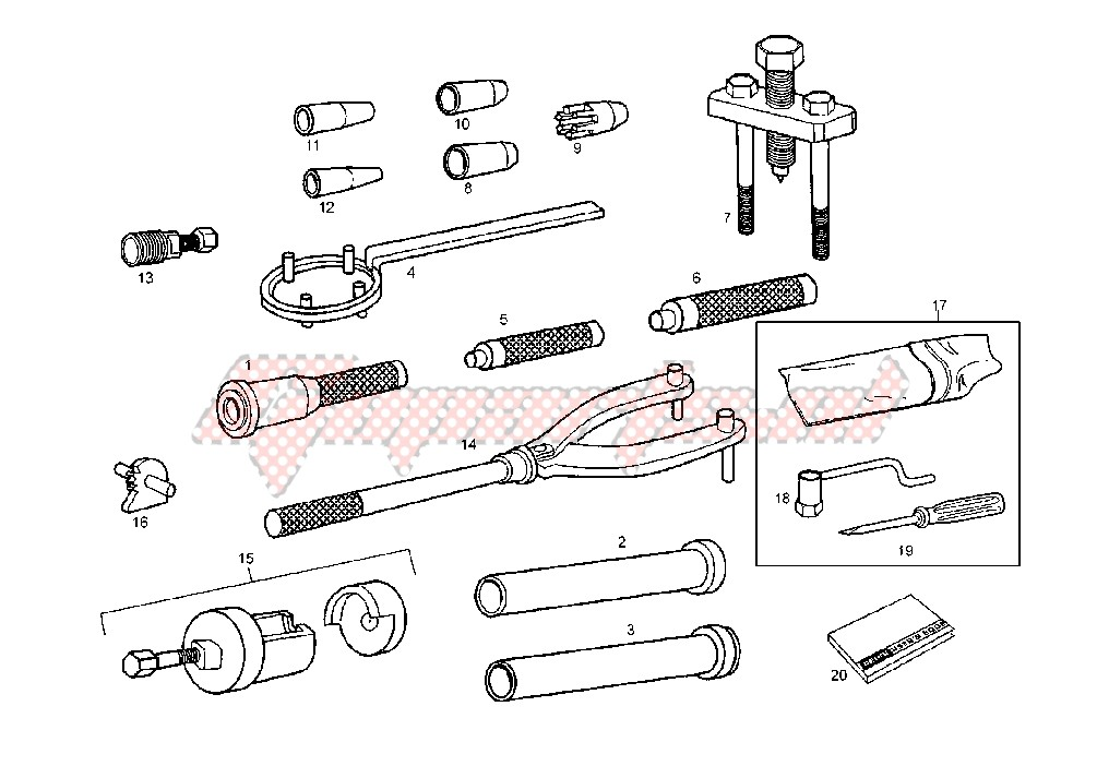 WORKSHOP SERVICE TOOLS image